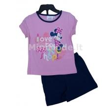 Pižama trumpomis rankovėmis Minnie