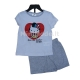 Pižama trumpomis rankovėmis Hello Kitty
